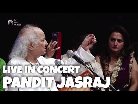 PANDIT JASRAJ LIVE IN CONCERT | BEST OF HINDUSTANI CLASSICAL MUSIC | 8 PRAHAR | MUSIC OF INDIA