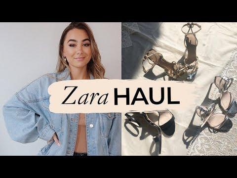 ZARA TRY-ON HAUL 2018! | Julia Havens