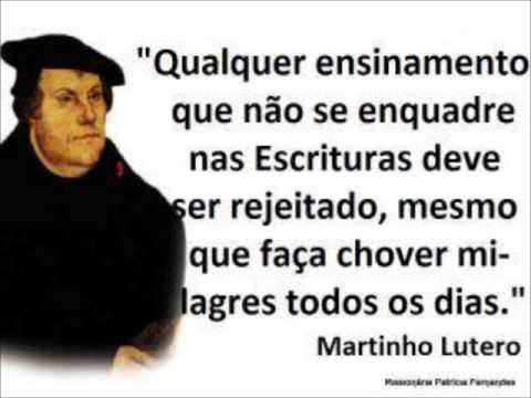 Sofrimento Martinho Lutero Youtube