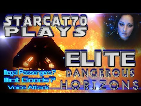 Elite Dangerous:  Horizons | Easy Money On Rare Goods & Exploration Part 4--The Illegal Passengers!