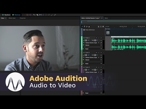 Edit Audio to Video in Adobe Audition CC