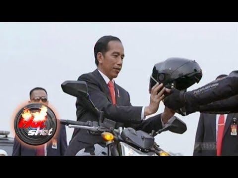 Aksi Presiden Jokowi Naik Motor Di Asian Games Sedot Perhatian Dunia - Hot Shot 19 Agustus 2018