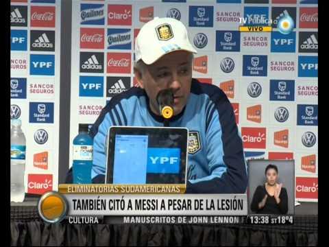Visión 7: La nómina de Sabella para las Eliminatorias: Lamela y Messi convocados