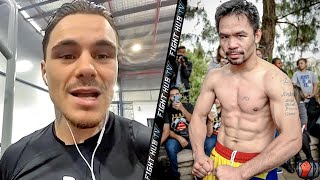 """ITS LIKE LIGHTINING!"" GEORGE KAMBOSOS JR ON MANNY PACQUIAO'S ""DECEIVING"" POWER"