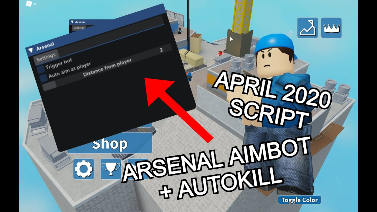 New Roblox Arsenal Aimbot Autokill Script May 2020 With