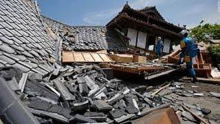 japan earthquake video 2016