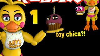 roblox five nights at freddy's 2 Toy chica 😍🐤🐣🐥