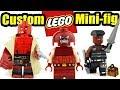 LEGO Super Hero Custom Minifigures