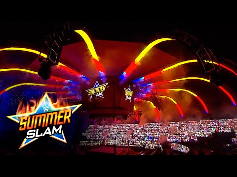 SummerSlam 2020 opens with incredible pyro: SummerSlam 2020 (WWE Network Exclusive)