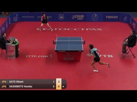2017 Belarus Open (Ws-Final) SATO Hitomi - HASHIMOTO Honoka [Full Match/HD]