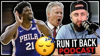 JOEL EMBIID SCORES 49 POINTS VS HAWKS AND.. I DONT CARE | Sixers Hawks