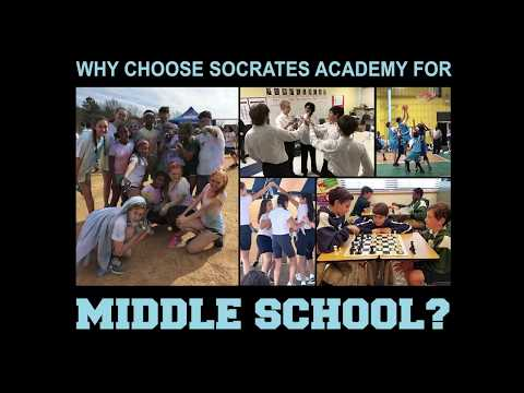 Why Choose Socrates Academy for Middle School?