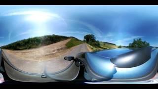 LG 360 CAM Autofahrt 360 Grad ohne Schnittkante