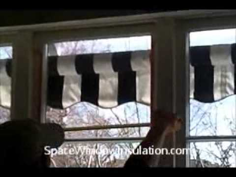 How to install space window insulation youtube for Window insulation rating