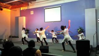 "GetReady Dancers ""We wait for you/shekinah glory b"