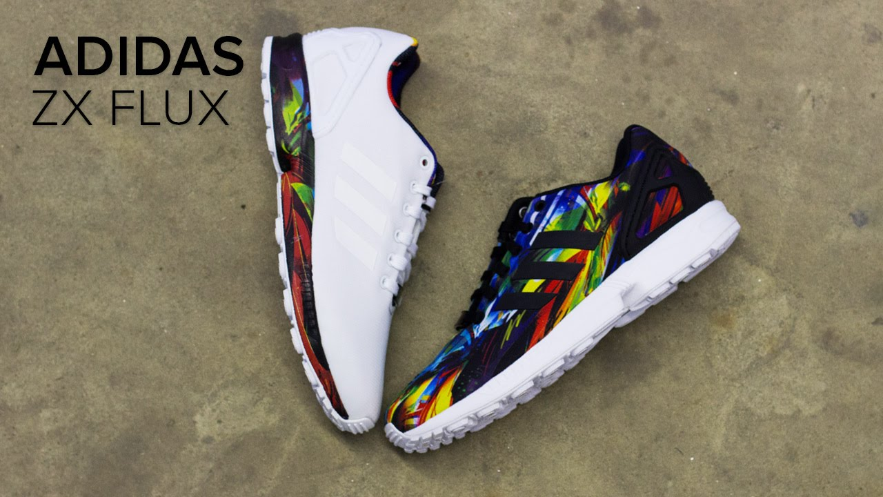 6bc320a6a0f86 adidas ZX Flux Shoe Review and On Feet Review - YouTube