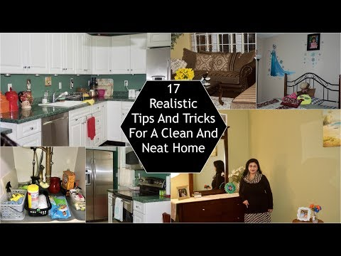 17 Tips / Habit To Keep Your Home Clean And Neat | Simple Living Wise Thinking