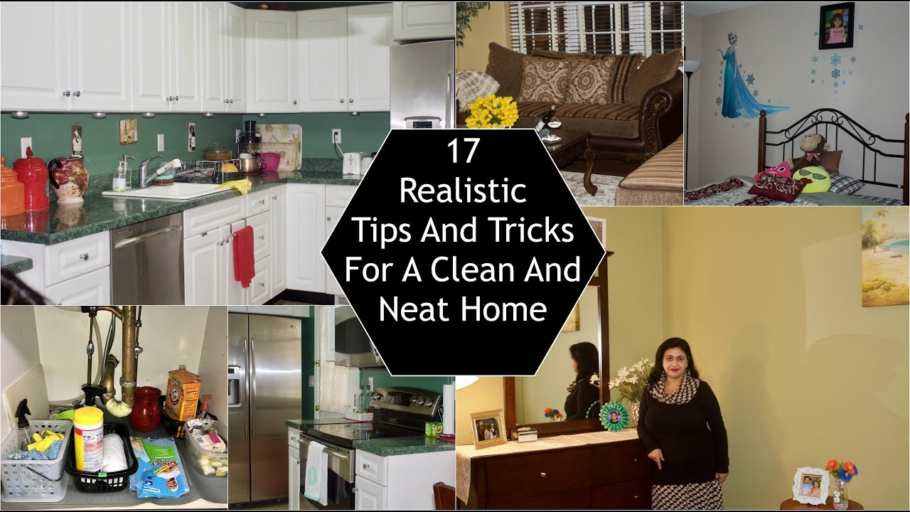 17 Tips / Habit To Keep Your Home Clean And Neat