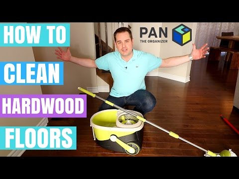 HOW TO CLEAN HARDWOOD FLOORS !!!