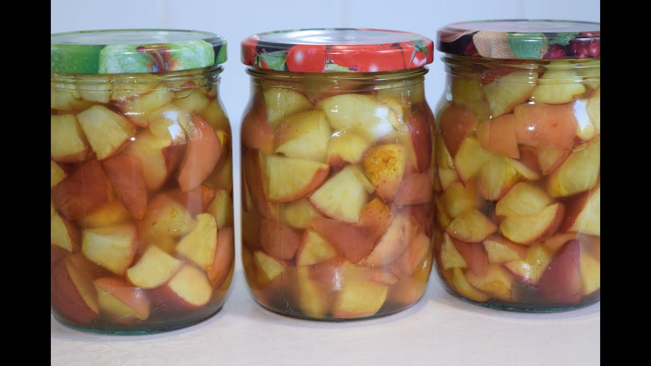 Яблоки для пирогов на зиму - простой рецепт . Начинка )) Заготовки на зиму.