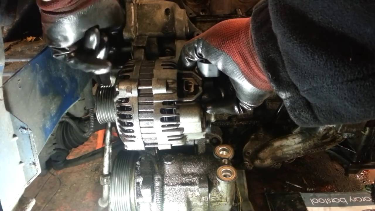 Cheap Oil Change >> How to Change Replace Alternator Peugeot 206 - - Amateur ...