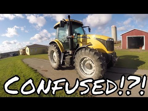 Dumb Farmer Tries To Drive Modern Tractor