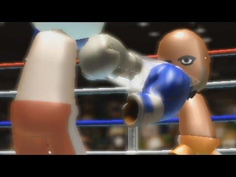 Fighting Matt, the Final Boss of Wii Sports