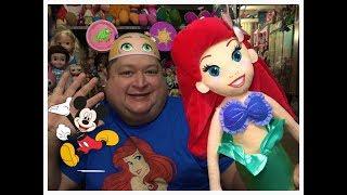 2018 Disney Store/Disneyland Ariel Plush Disney Princess Doll✨- Magical Monday!