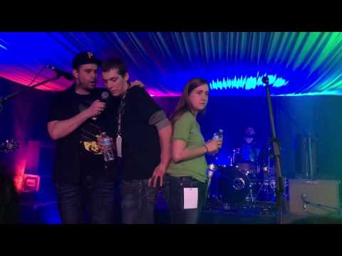 Marriage Proposal on stage with The Stanfields St. Patrick's Day