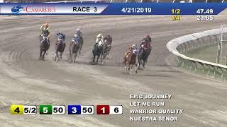 Carrera 3 21/Abril/2019 (EPIC JOURNEY)