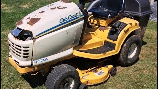 cub cadet riding lawn mower for sale