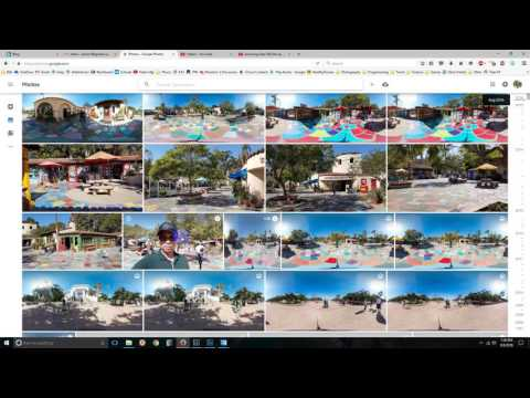 2016-09-10 VLOG #0016 - Creating & publishing 360-degree aerial panoramas with a drone
