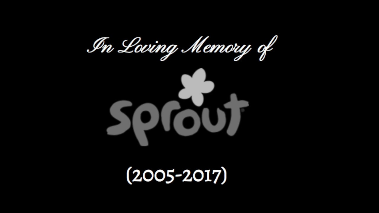 R I P Sprout Channel (2005-2017)