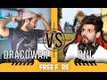 Dracowar VS BNL - أول مرة نلعب فري فاير