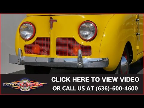 1947 Crosley Round Side Pickup || For Sale