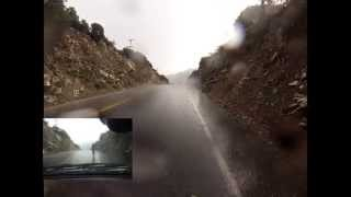 mt baldy cycling descent hail storm 2013