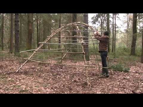 Thumbnail: Building A Stone Age Hut As Survival Shelter