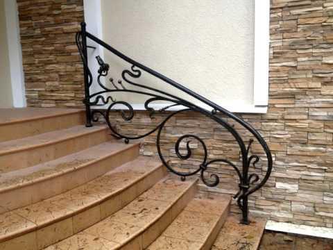 Как установить перила на лестнице без столбов, если нельзя .