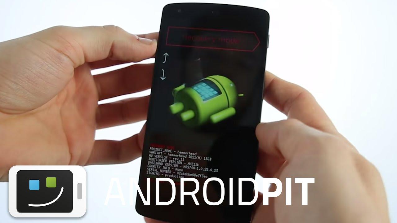 Mode download sur Android - Bootloader