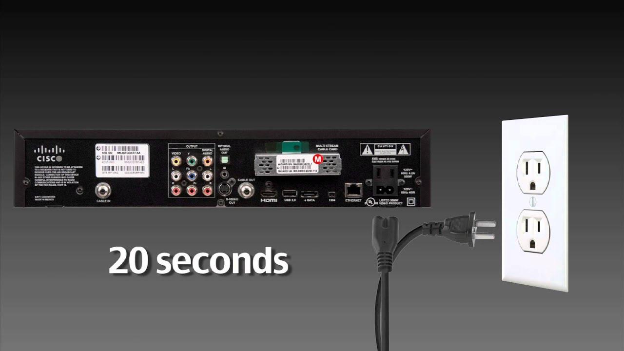 how to reboot your cox box cox advanced tv [ 1280 x 720 Pixel ]