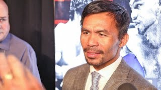 Manny Pacquiao 'Crucifixion Comment Was A Low Blow!'  -  Pacquiao vs Thurman