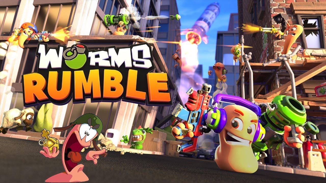 ¿QUÉ es WORMS RUMBLE? ¡Te lo CONTAMOS en tres minutos!