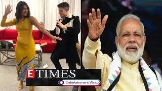 Priyanka Nick Dance To Bollywood ; Celebs Wish Pm Narendra Modi On His 69th Birthday