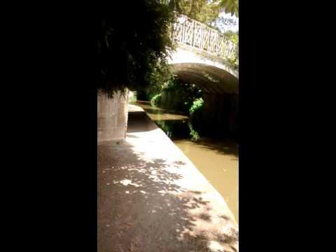 Kennet and Avon canal,Sydney gardens,bath,uk