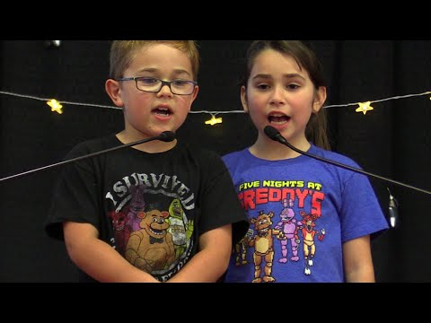 I'm In A Talent Show Singing FNAF JUST GOLD | RadioJH Auto