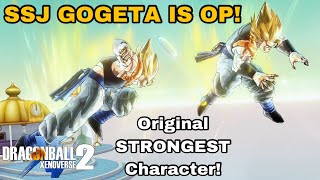 The ORIGINAL Most Overpowered Character! Playing SUPER GOGETA In Dragon Ball Xenoverse 2