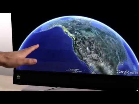 Leap Motion + Google Earth