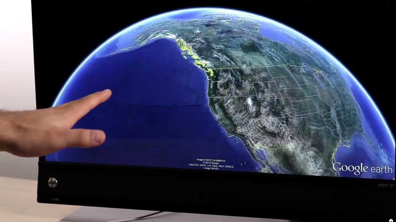 Leap Motion + Google Earth
