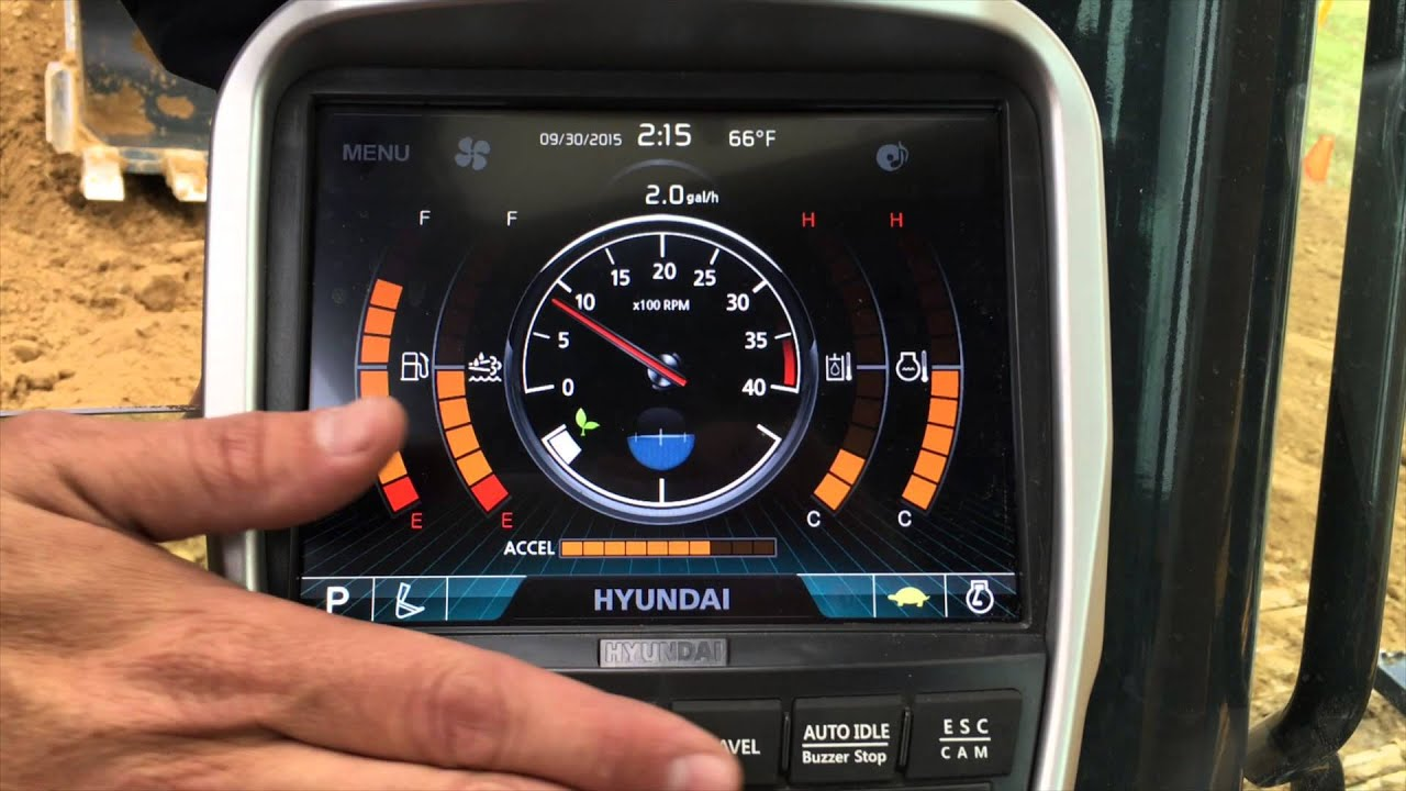 A Tour Of The New Hyundai EX Monitor And AAVM 360 View