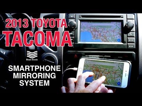 toyota tacoma navigation override 2017